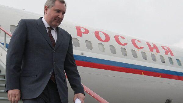 Визит вице-премьера РФ Дмитрия Рогозина в Кишенев