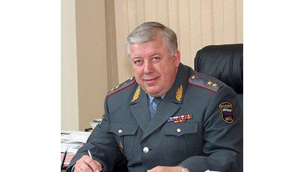 Генерал-лейтенант милиции Владимир Яковлевич Кикоть
