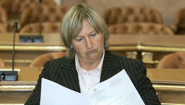 Елена Батурина. Архивное фото