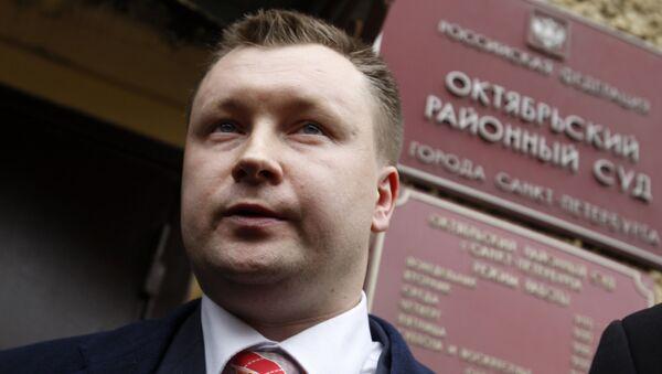 Суд по иску гей-активиста Н.Алексеева к депутату В.Милонову