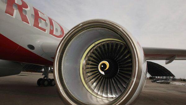 Самолет Ту-204 авиакомпании Red Wings