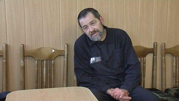 Сергей Мохнаткин в колонии