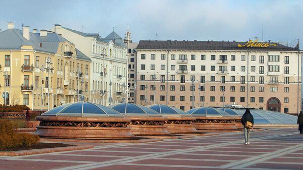 Площадь Независимости в Минске. Архивное фото