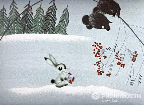 Кадр из мультфильма Топтыжка