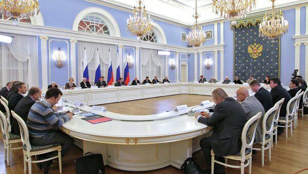 Заседание Совета по развитию гражданского общества и правам человека. Архив