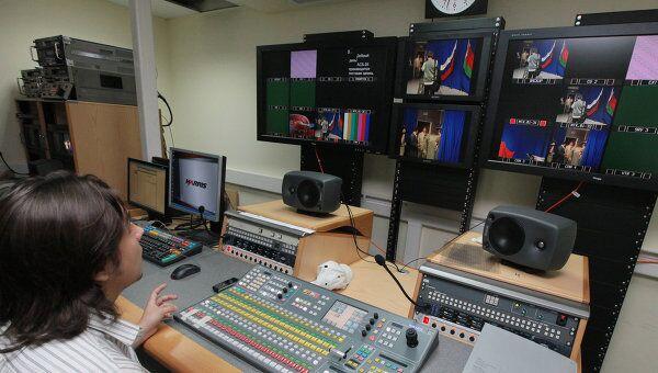 Студия ТВ в Армении