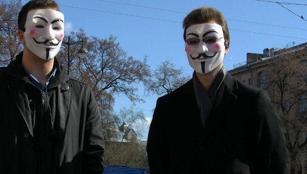 Члены пиратской партии присоединились к демократическому маршу Петербурга