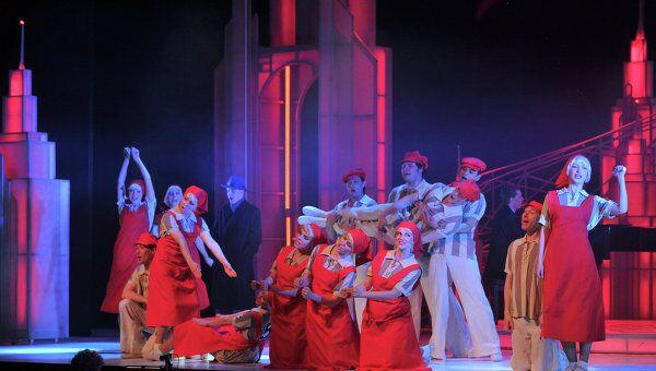 Театр мюзикла присоединился к акции Георгиевская ленточка