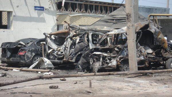 Двойной теракт в Махачкале