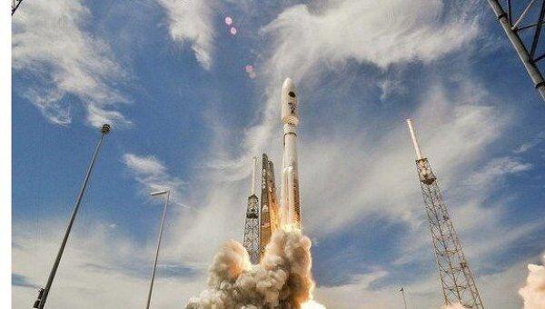 Запуск спутника связи нового поколения AEHF 2 с мыса Канаверал