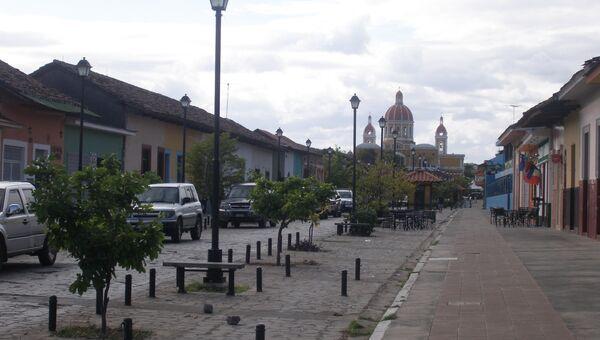 Никарагуа. Город Гранада. Архивное фото