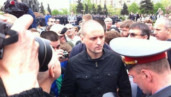 Марш миллионов Удальцов подготовка репортер