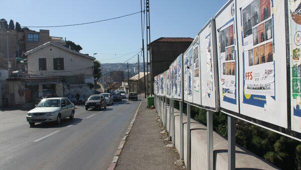 Дороге в Алжире. Архивное фото
