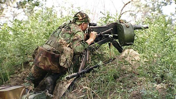 Спецоперация по уничтожению боевиков в Кизлярском районе. Архивное фото