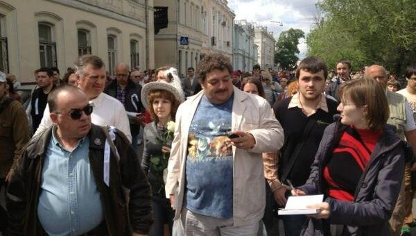 Акция Контрольная прогулка писатели Москва репортер
