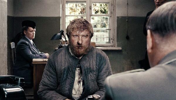 Кадр из фильма В тумане Сергея Лозницы