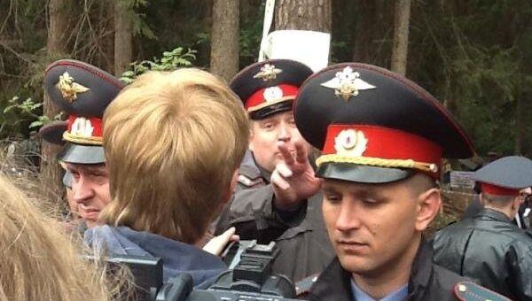 Разгон лагеря в Жуковском