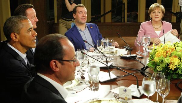 Саммит G8 в Кэмп-Дэвиде