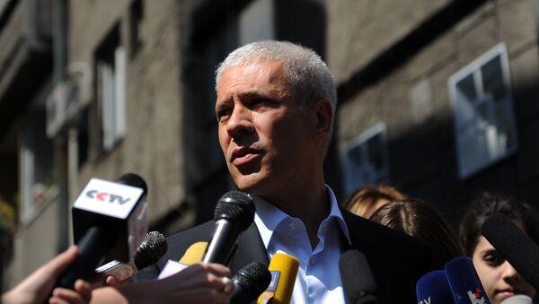Председатель Демократической партии Сербии Борис Тадич