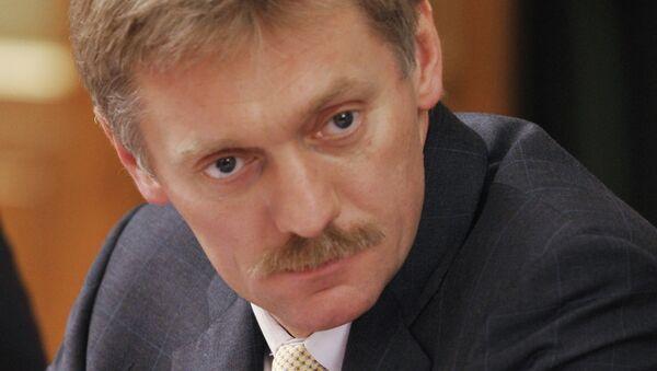 Пресс-секретарь премьер-министра РФ Дмитрий Песков. Архив