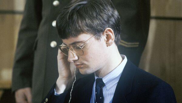 Матиас Руст в советском суде. 1987 год