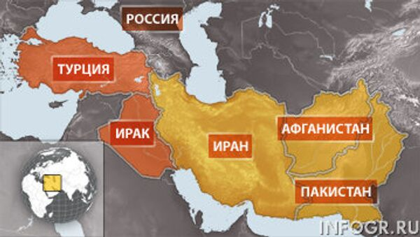 Российские байкеры задержаны в Ираке