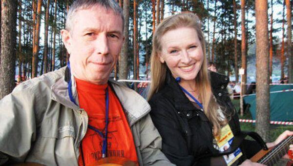 Участники проекта Песни нашего века Галина Хомчик и Константин Тарасов