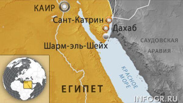 Юг Синая в Египте