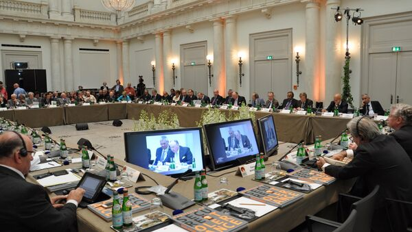 Конференция Международного Люксембурского форума в Берлине