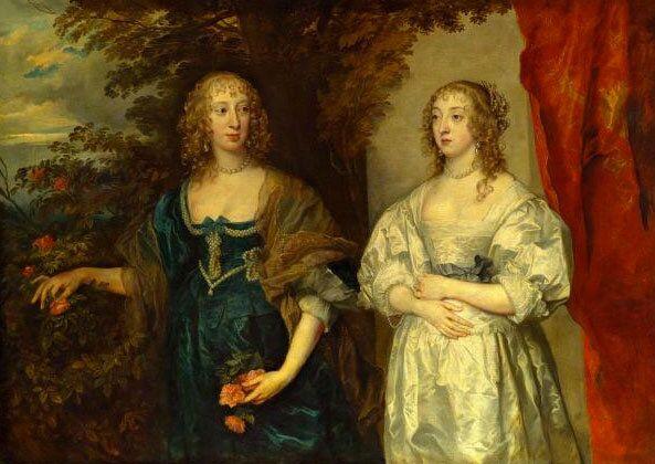 Леди д'Обиньи и графиня Портленд