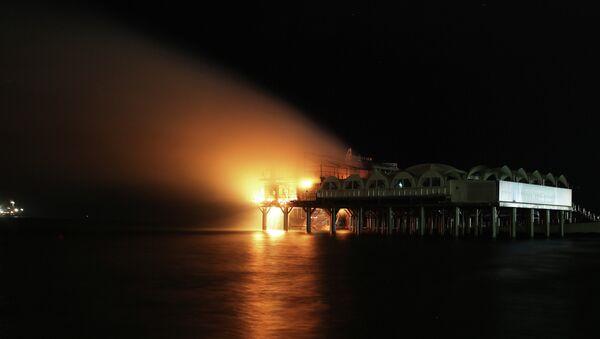 Пожар в ночном клубе ПлотForma в Сочи