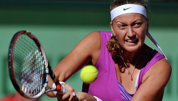 Чешская теннисистка Петра Квитова, архивное фото