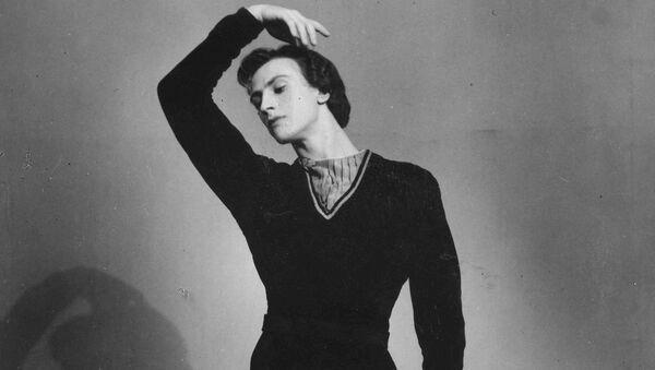 Никитьа Долгушин в балете Жизель. 1959 год