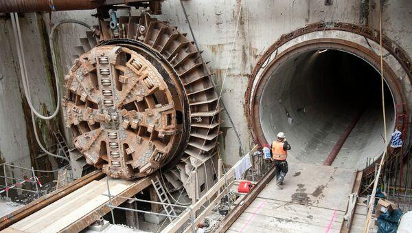 Окончание бурения туннелей для европейского рентгеновского лазера XFEL