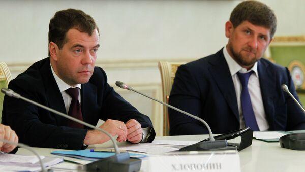 Рабочая поездка Д.Медведева в Северо-Кавказский ФО