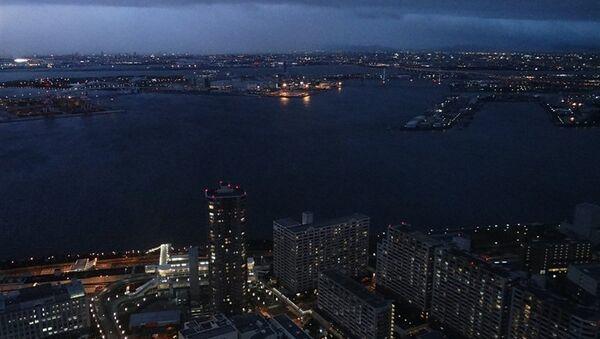Вид на Осаку. Архивное фото