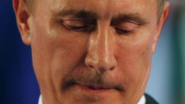 Владимир Путин на саммите G20