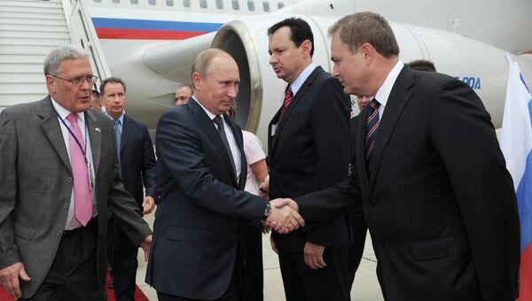 Рабочий визит президента РФ В.Путина в Израиль
