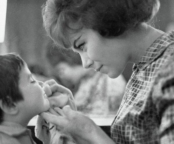 Эдита Пьеха с дочерью