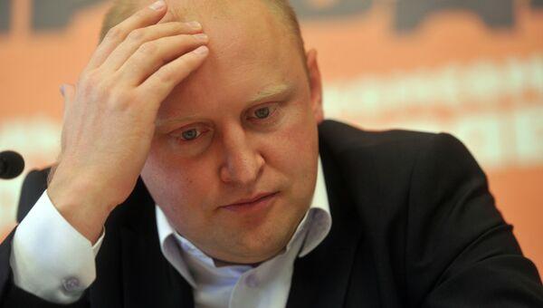 Глава Росмолодежи Сергей Белоконев, архивное фото