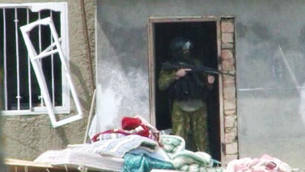Спецоперация по уничтожению четверых боевиков в Дагестане