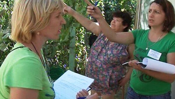 Жители Крымска со слезами рассказывают о наводнении оценщикам ущерба
