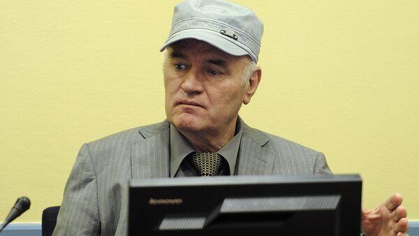 Экс-лидер боснийских сербов Ратко Младич. Архивное фото