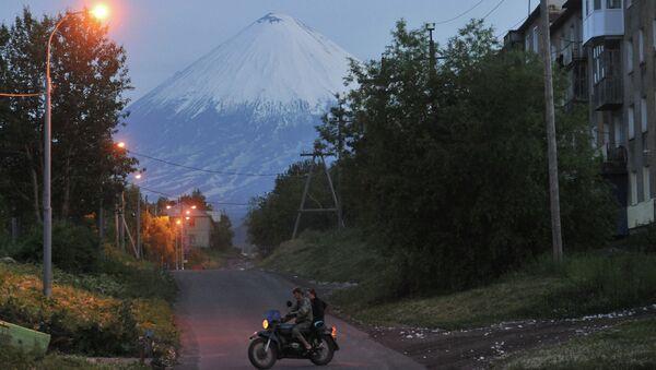Регионы России. Камчатка. Архивное фото