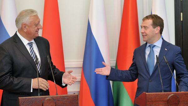 Рабочий визит Д.Медведева в Белоруссию