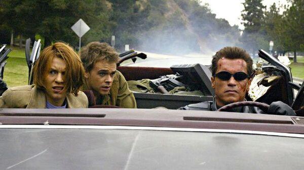 Кадр из фильма Терминатор