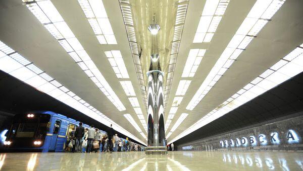 Открытие станции метро Чкаловская в Екатеринбурге