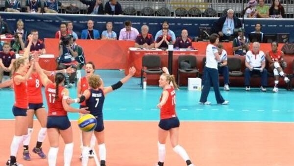волейбол Лондон Россия Великобритания Олимпиада