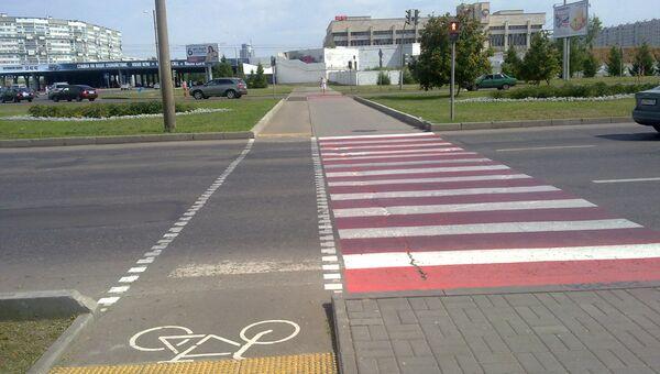 Набережные Челны безопасность дорожное движение зебра пешеход