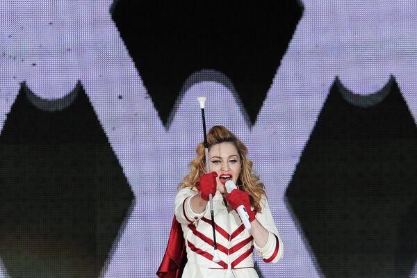 Концерт Мадонны в СК Олимпийский в Москве